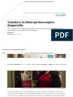 Dolores Reyes_ 'Cometierra', la vidente que busca mujeres desaparecidas _ Cultura _ EL PAÍS