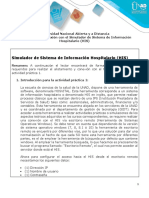 Manual de Conexión Con El Simulador HIS