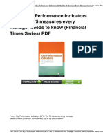 f-r-e-e-0273750119-key-performance-indicators-kpi-the-75-measures-every-manager-needs-to-know-financial-times-serie