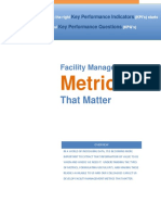 FacilityManagementMetricsThatMatter