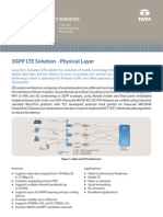 Tcs Eis Flier LTE Physical Layer Solution