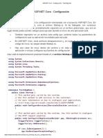 ASP.NET Core - Configuración