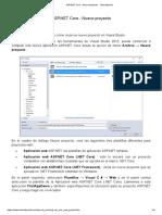 ASP.NET Core - Nuevo proyecto