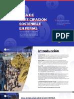 I Guía de participación Sostenible en Ferias