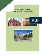 ЭУ Русский язык (как иностранный) В1