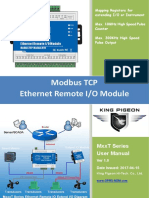 MxxT Industrial Ethernet Remote IO Module User Manual V1.0