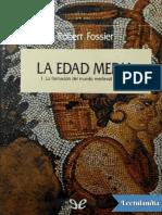La Edad Media - Robert Fossier