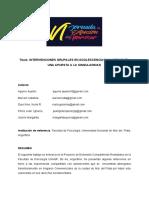 INTERVENCIONES GRUPALES EN ADOLESCENCIAS VULNERABLES.18