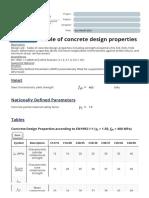 Table of concrete design properties (fcd, fctm, Ecm, fctd) - Eurocode 2.pdf