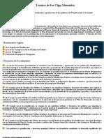 PROCEDIMIENTO de Formulación y aprobación de las políticas de Planificación e Inversión