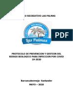 Protocolo Restaurantes, cafeterías con servicio a domicilio las palmas