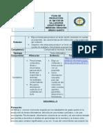 5° FICHA DE PRODUCCIÓN LECTORA Y ESCRITORA- POMPEYO