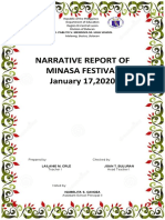 Minasa Festival Narrative 2020
