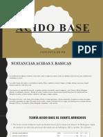 CLASE 3 acido base