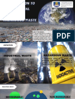Introduction to industrial and harzadous waste