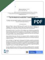Resolucion No. 00149 - Protocolo Bioseguridad regreso a Oficinas