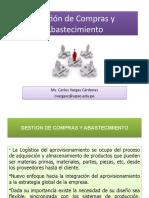 GESTION DE COMPRAS Y ABASTECIMIENTO