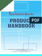 Regan's Product Handbook