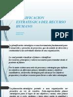 PLANIFICACION ESTRATEGICA DEL RECURSO HUMANO