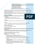 Modelo CurriculumVitae 2020