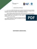 Comunicado Ángela Jeria - 2