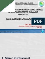 07-Cosecha de agua-Seminario Nacional -Huancavelica ING JUAN SUYO