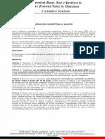 VREC. N° 060 calendario académico 2020 reprogramado