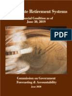June 2020 Final Financial Condition of the State Retirement Systems June 2020 for FY 2019