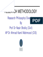 Research Philosophy and Overview_AP Dr Kamil