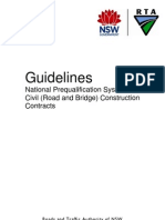 National Pre Qualification Guidelines 2010