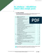 Delhaye J-M 1990 Transferts de chaleur-ebullition ou condensation des corps purs (TI)(1)