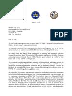 Roosevelt Island Coler Task Force Letter From Elected Officials