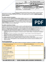 Ficha de Actividad Practica 2do Sec 30 Junio