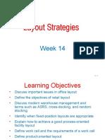 Week 14 Process layout