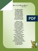Poema en la clase de hoy de escritura creativa