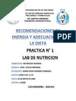 PRACTICA 1 NUTRICION