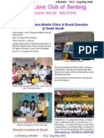e-Bulletin - Vol 2 - Aug/Sep 2005 - Lions Club of Serdang