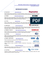 Marcas - Representaciones  METCA 2020