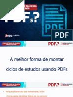 A melhor forma de montar ciclos de estudos usando PDFs - Alexandre Meirelles - 2-6-20