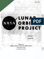 Lunar Orbiter Project - Mission a Description