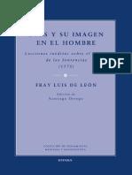Fray Luis de León. Dios y Su Imagen en El Hombre