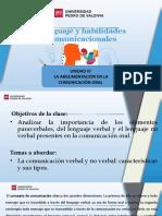 CLASE 9 - LA ARGUMENTACION EN LA COMUNICACION.pptx