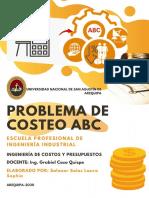 PROBLEMA COSTEO ABC 5.30