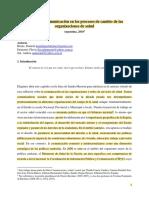 El uso de la comunicación en los procesos de cambio de las organizaciones de salud (Obligatoria) (1)