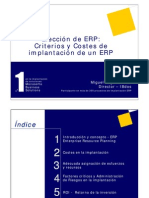 Costes Criterios Implantacion ERP
