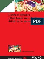 L'enfant terrible ¿Qué hacer con el niño difícil en la escuela.pdf