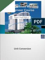 Sarizal Sirim Physic - CWE - Certified Welding Engineer Exam