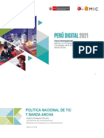 6.3 Perú digital 2021