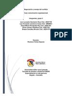 ACTIVIDAD. MODULO 2 - CASO COMUNICACIÓN ORGANIZACIONAL!