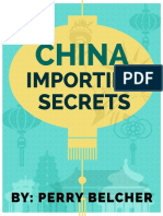China Importing Secrets 2